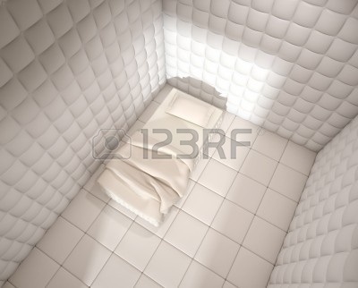 9596804-mental-hospital-padded-room-seen-from-above-with-a-single-bed